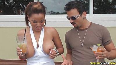 Big tits latina Natasha