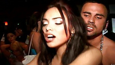 Two sluts on a single dick after a few drinks