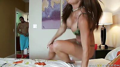 Rhylee finds her husband cheating damn slut friend