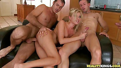 Donabelle deep fucked anal hardcore and ass to mouth