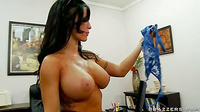 Big tits at work with Jenna pissed at assistant