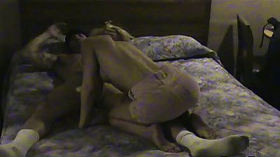 Hidden camera footage of Janice cheating wife blonde