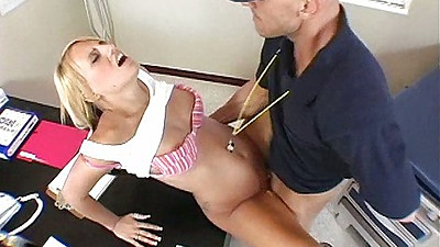 Shaved pussy teacher and student angry sex with Jacky Joy