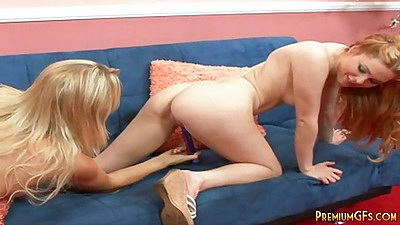 Sexy toys skinny lesbians friends Jayme and Sabrina playing with each other