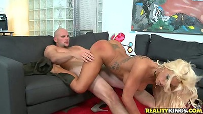 Great athletic milf Gianna Capone with big fake tits