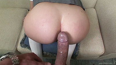 Big dick with 18 year old prep school student Leigh Livingston in pov sex