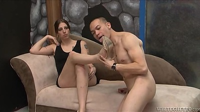 Brunette Bella Bellucci is a transsexual teen
